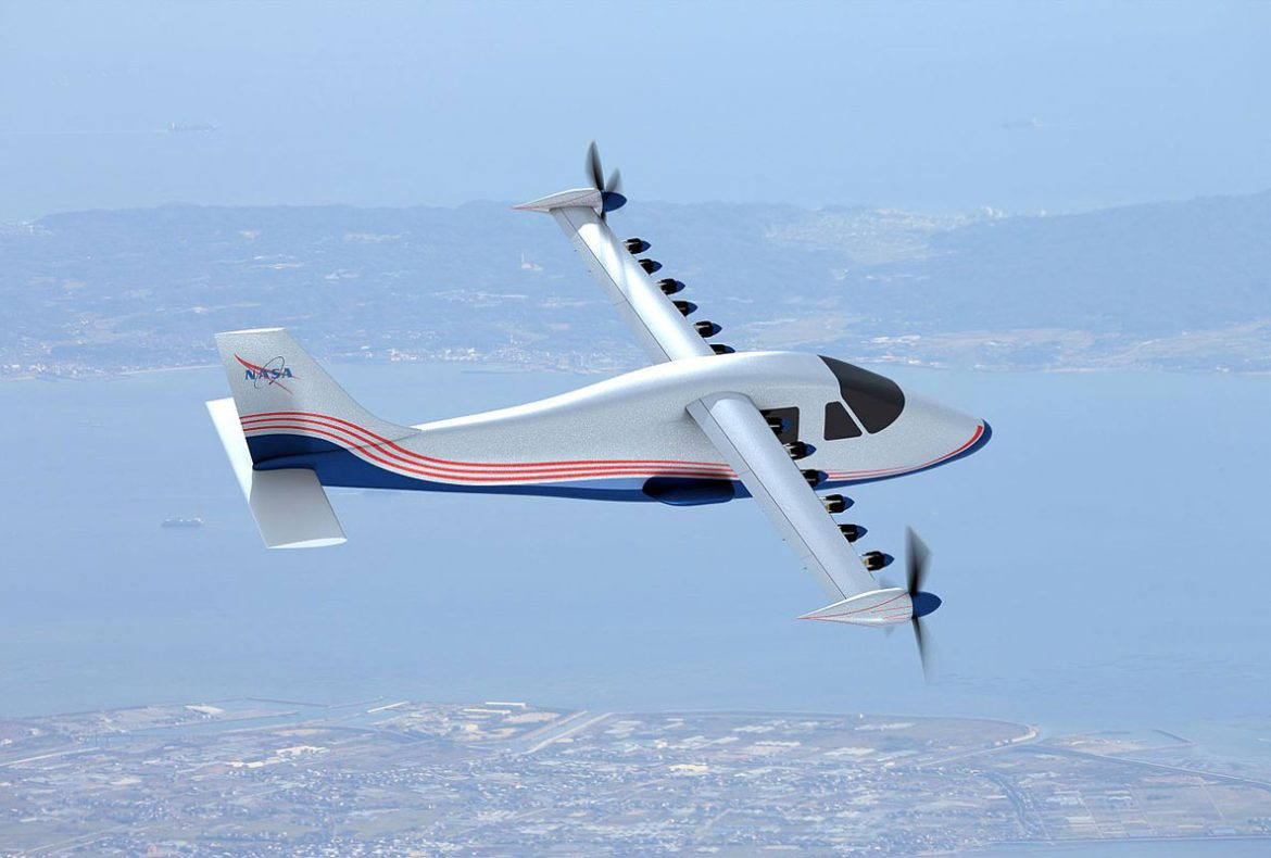 NASA Unveils Its All Electric Plane, 'Maxwell'